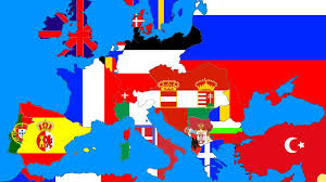 Map Of Europe Test by Speedart 1914 Flag Map Of Europe Youtube
