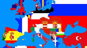 speedart 1914 flag map of europe youtube