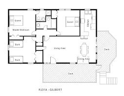 one story floor plans 1 story house floor plans home deco plans