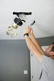 a modern ceiling fan in our bedroom chris loves