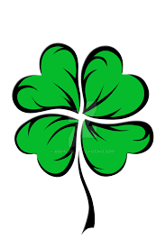 4 leaf clover 2 2 by aquachild on deviantart