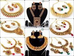 rhinestone necklace sets wholesale images Gold plated indian jewellery gold plated indian jewellery jpg