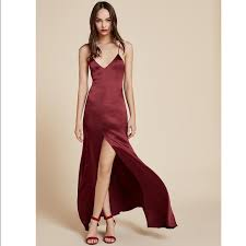 silk dresses reformation dresses skirts cabot silk dress xs poshmark