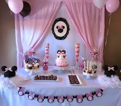 minnie mouse 1st birthday rock pastries minnie mouse 1st birthday cake and dessert table