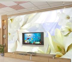 online get cheap painting bathroom aliexpress com alibaba group 3d wallpaper for room magnolia flower wall decoration painting bathroom 3d wallpaper flower wallpaper china