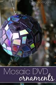 easy gorgeous mosaic dvd ornaments happy hooligans