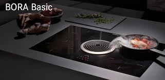 cucine piani cottura piani cottura bora innovazione in cucina