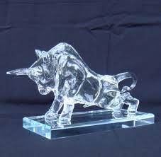 aliexpress com buy quartz crystal glass bull statue mineral ox