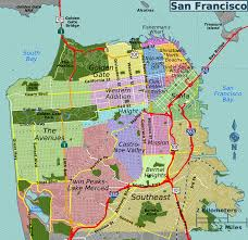 Sf Bart Map San Francisco U2013 Travel Guide At Wikivoyage