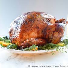30 easy thanksgiving turkey recipes best roasted turkey ideas turkey baked in cheesecloth serena bakes simply from