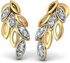 bluestone earrings bluestone the lascia earrings yellow gold 18kt stud earring price