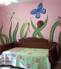 Best Murals Images On Pinterest Wall Murals Garden Mural - Girls bedroom wall murals