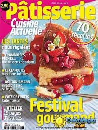 cuisine actuelle pâtisserie été 2014 no 6 pdf