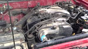 toyota motor toyota 3 4l v6 with bad engine knock youtube