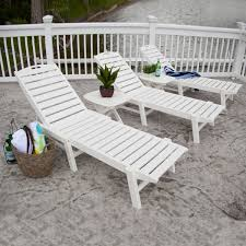 Outdoor Chaise Lounges Polywood Chaise Lounge Sets Outdoor Chaise Lounge Poly Wood