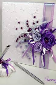 purple guest book wedding guest books luulla
