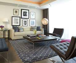 houzz area rugs family room contemporary with neutral colors