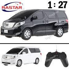toyota car and remotes rastar toyota alphard 1 27 r c car model with remote fca