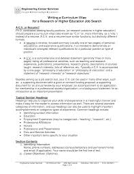 Education Example Resume by Resume Format For Higher Education Resume Format