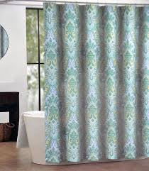Shower Curtain For Closet Door Amazing Blue And Green Paisley Shower Curtain U Design Image For