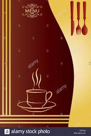 menu card templates coffee menu card design template vector stock vector