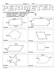 ks2 perimeter of different shapes by jinkydabon teaching