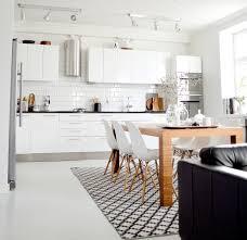 Nordic Kitchens by Biała Kuchnia Z Jadalnią Pomysły I Inspiracje Kitchens And