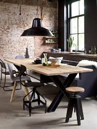Diy Industrial Dining Room Table Best 25 Industrial Table Ideas On Pinterest Industrial Chic