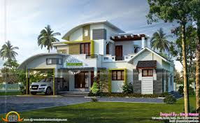 100 best home design kerala 3000 sqfeet new style home