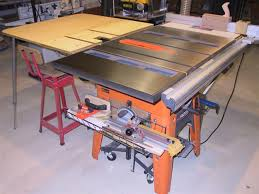 Ridgid Table Saw Extension 3650 Outfeed Table Ridgid Plumbing Woodworking And Power Tool
