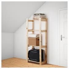 Ikea Racks Albert Shelving Unit Softwood 64x28x159 Cm Ikea