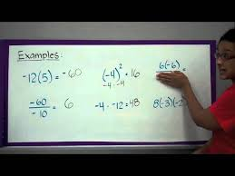 multiplying and dividing integers lessons tes teach