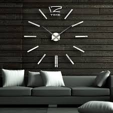 home decor wall clocks 30 large wall clocks that don t compromise on style