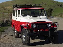red land cruiser 1964 toyota land cruiser fj45 lv wagon