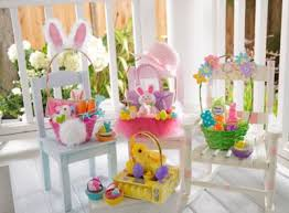 Easter Decorations For Windows easter egg tablescape ideas party city