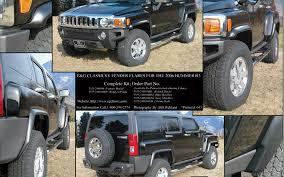 hummer jeep wallpaper hummer h3 fender flare and splash guard set 2006 2009 e u0026g classics