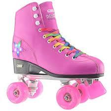 Amazon Com Crazy Skates Disco Roller Skate By With Led Light Up