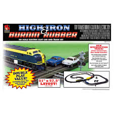 Sets Union Intersection Complement Worksheets High Iron And Burnin Rubber Slot Car Racing Set High Iron Slot