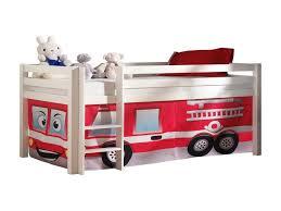 chambre enfant pompier lit lit camion pompier inspiration amã nagement chambres bã