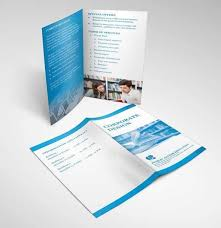 two fold brochure template psd the 25 best bi fold brochure ideas on tri fold