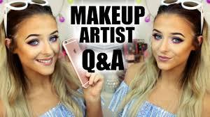 How To Become A Make Up Artist How To Become A Makeup Artist Q U0026a Advice Youtube