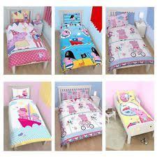 Peppa Pig Single Duvet Set Peppa Pig Duvet Ebay