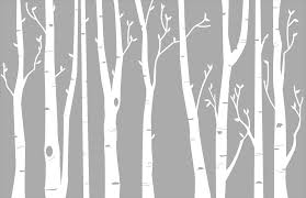 Wall Stickers Trees Birch Tree Wall Decal