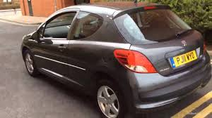 peugeot 207 2011 peugeot 207 envy grey 2011 youtube