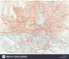 Lubeck Germany Map by Germany Munchen 1936 Vintage Map Stock Photos U0026 Germany Munchen