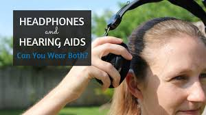 hairstyle that covers hearing aid wearer headphones and hearing aids can you wear both everyday hearing