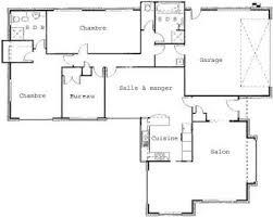 plan plain pied 2 chambres d une villa de plain pied 2 chambres bureau