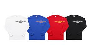 supreme shirts comme des gar罘ons shirt箘 supreme 2015 sneakers addict邃