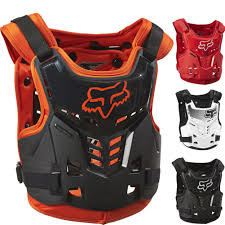 kids motocross gear combo fox racing proframe lc youth motocross protection chest guard