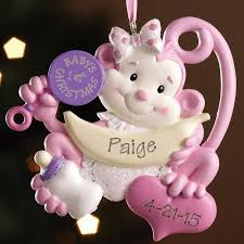 season personalized ornaments for baby season